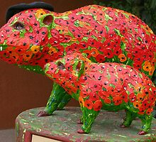 Sedona Pigs by leftwinger7