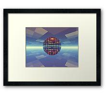 Mirror Ball Framed Print
