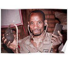 African Medicine Man (asinganga) Poster