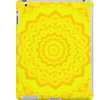 Psychedelic Yellow iPad Case/Skin