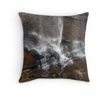 Whitewater Falls Mist Throw Pillow