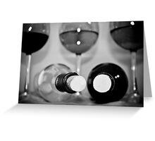 Wine 2 Greeting Card