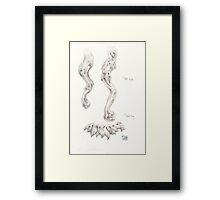 Table Legs no. 1 Framed Print