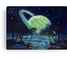 The Green Planet Canvas Print