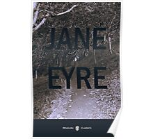 Jane Eyre cover print Poster