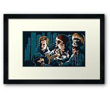 Blade Runner - Collage Framed Print