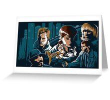 Blade Runner - Collage Greeting Card
