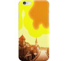 Gravity Falls, Fire  iPhone Case/Skin