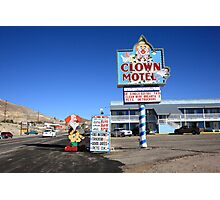 Tonopah, Nevada - Clown Motel Photographic Print