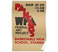 WPA United States Government Work Project Administration Poster 0577 Paintings Federal Art Project Poster