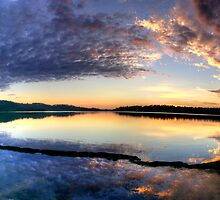 Angels Wings - Narrabeen Lakes , Sydney - The HDR Experience by Philip Johnson