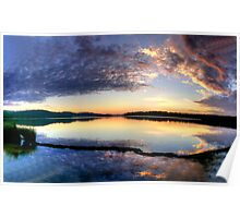 Angels Wings - Narrabeen Lakes , Sydney - The HDR Experience Poster
