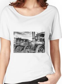 Steam Lorry And Traction Engine Women's Relaxed Fit T-Shirt