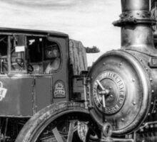Steam Lorry And Traction Engine Sticker