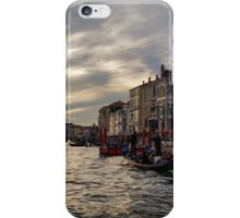 Impressions of Venice - the Grand Canal in Silver and Pearl iPhone Case/Skin