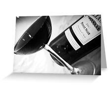 Wine 8 Greeting Card