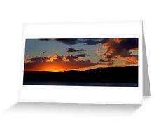 Last Light - Palm Beach, Sydney Australia -The HDR Experience Greeting Card