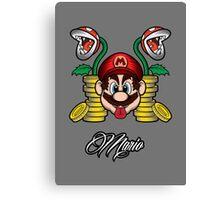 High Life Mario Canvas Print