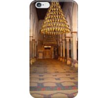 Kairouan Mosque Mihrab and Prayer Room in Tunisia iPhone Case/Skin