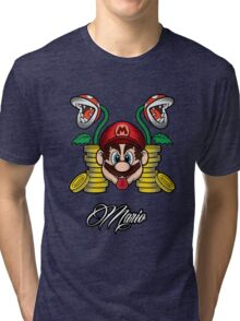 High Life Mario Tri-blend T-Shirt