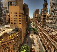Meet You At Martin Place - Martin Place, Sydney Australia - The HDR Experience by Philip Johnson