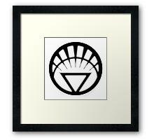 White Lantern Corps - LIFE!  Framed Print