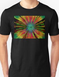 Colorful Psychedelic Pattern Unisex T-Shirt