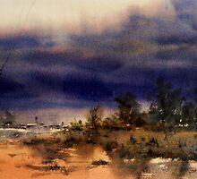 Coming Storm, Barcaldine, Queensland by Joe Cartwright