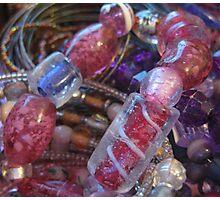 Glass Beads Photographic Print