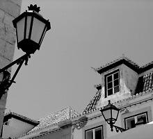 Old Lamp - Vila Real Sto Antonio, Portugal by Aurora Vaz