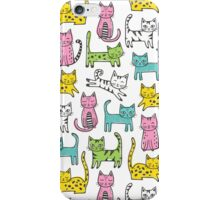 Cats with Stripes iPhone Case/Skin