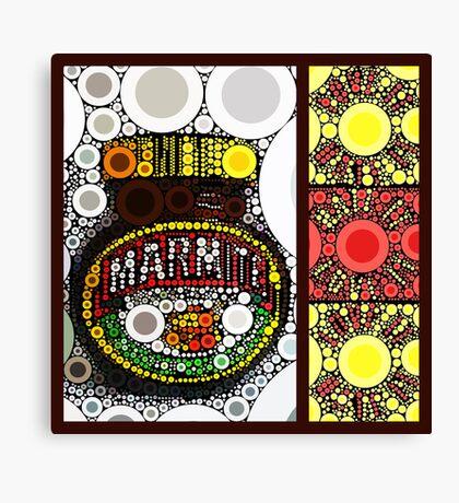 marmite ... love it ... hate it ... Canvas Print