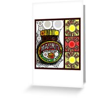 marmite ... love it ... hate it ... Greeting Card