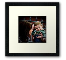 Untitled... but with a lot of love Framed Print