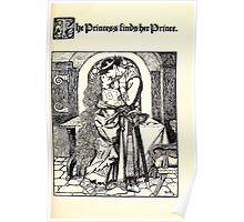 The Wonder Clock Howard Pyle 1915 0097 The Princess and the Prince Poster