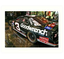 Dale Earnhardt Goodwrench #3 Art Print