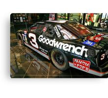 Dale Earnhardt Goodwrench #3 Canvas Print