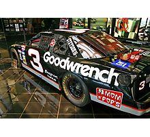 Dale Earnhardt Goodwrench #3 Photographic Print
