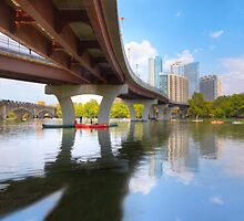August Summer at Lady Bird Lake in Austin Texas 1 by RobGreebonPhoto