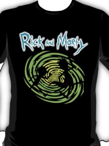 Rick and Morty Space T-Shirt