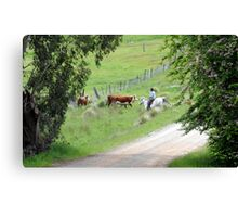 """ The Drovers Lane "" Canvas Print"