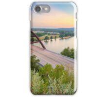 360 Bridge Sunset over Austin in August 2 iPhone Case/Skin