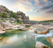 Texas Hill Country Morning in August 1 by RobGreebonPhoto