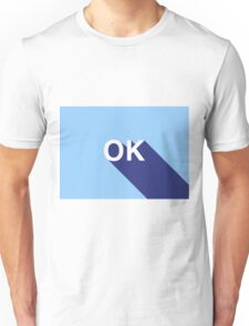OK // blue and more blue Unisex T-Shirt