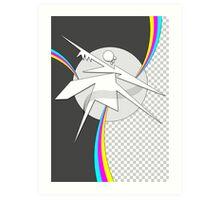 CMYK RAW Poster Art Print
