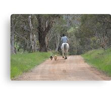 """ The Drover "" Canvas Print"