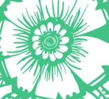 Mandala_Green Sticker
