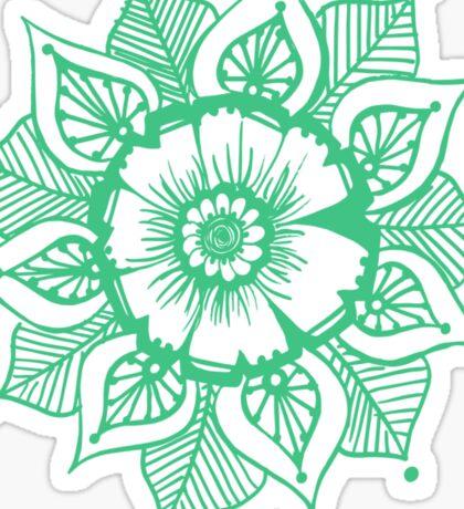 Mandala_Green Sticker