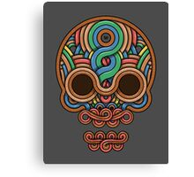 Celtic Skull Canvas Print