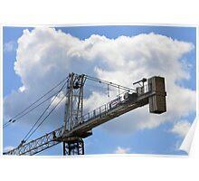 Crane counterweight Poster